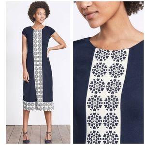 NEW Boden Frederica Ponte stretch dress